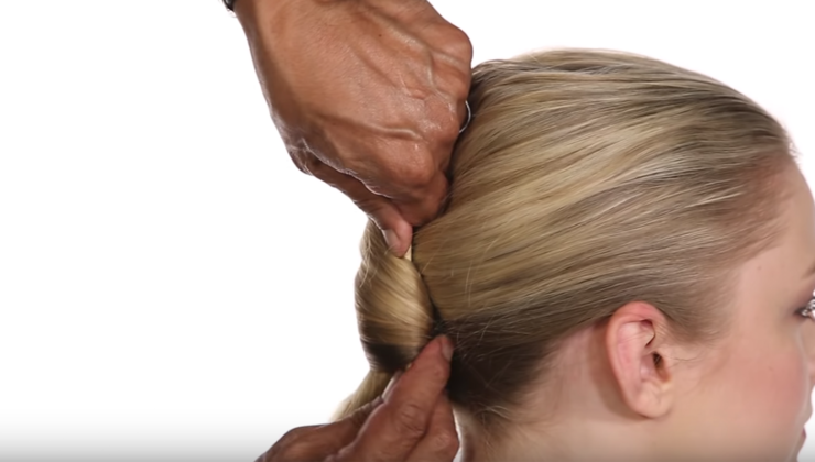 How to Create a French Twist Hairstyle with Chopsticks