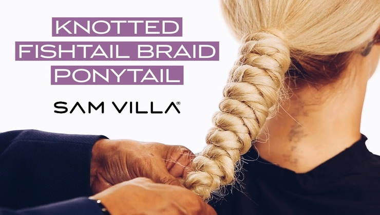 Knotted Fishtail Braid