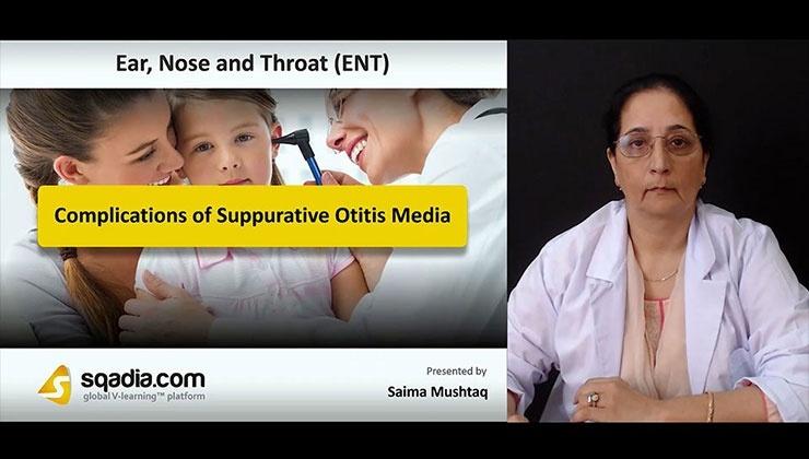 Complications of Suppurative Otitis Media