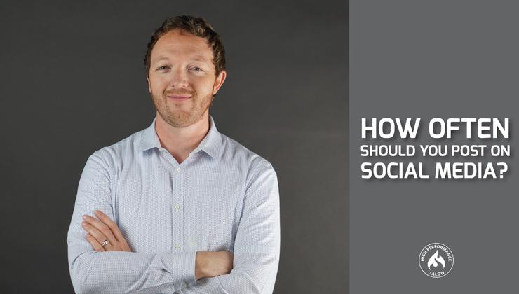 How often you should be posting on social media?