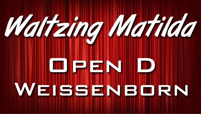 Waltzing Matilda - Open D - Weissenborn