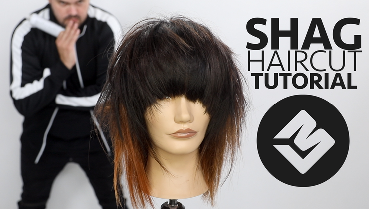 Shag Haircut Tutorial FALL 2018