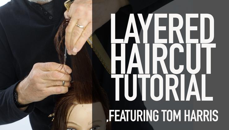 Layered Haircut Tutorial Featuring Tom Harris