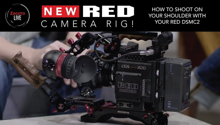 How to Shoot on Your Shoulder with Your RED DSMC2 Camera - Zacuto Live