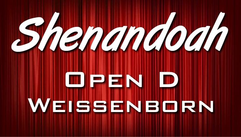 Shenandoah - Open D - Weissenborn