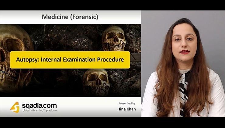 Autopsy: Internal Examination Procedure
