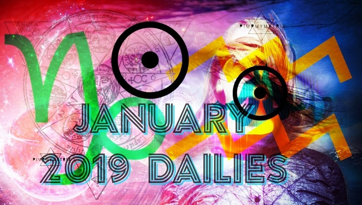 January 2019 Daily Quantum Astrology and Starseed DNA Translation