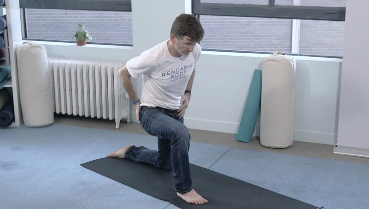 Front of Legs and Core