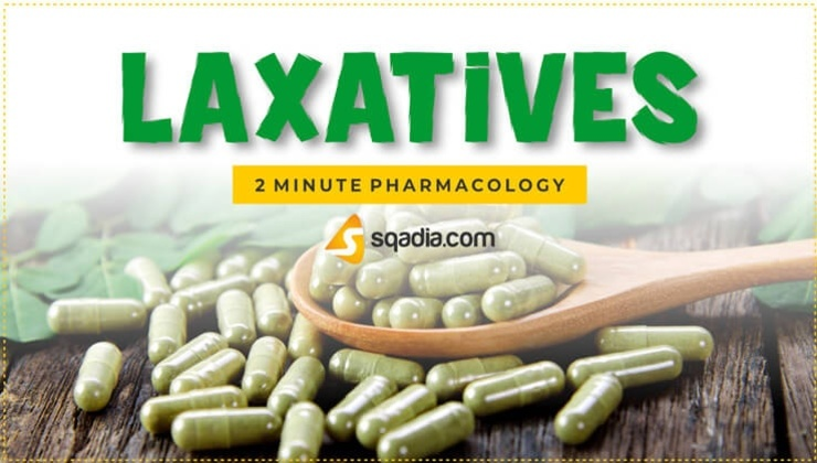 2-Minute Pharmacology: Laxatives