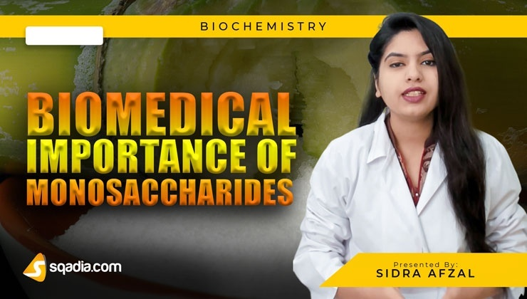 Biomedical Importance of Monosaccharides