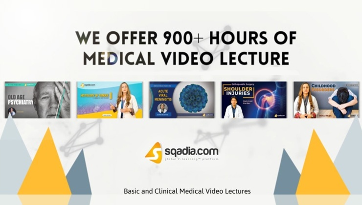 900 Plus Hours of Medical Video Lectures
