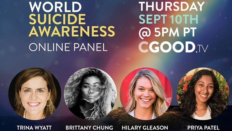 CGoodTV Live Replay:  Honored to Help – World Suicide Awareness Panel