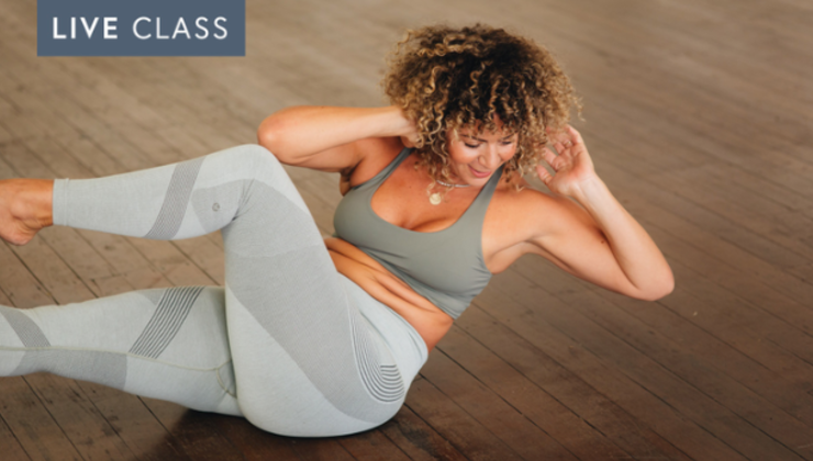 5pm Thurs 29 Oct – Power Pilates with Alix (45 mins)