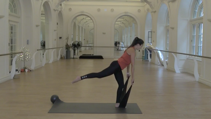 REPLAY 12pm – Barre and Stretch with Kat (45 mins)