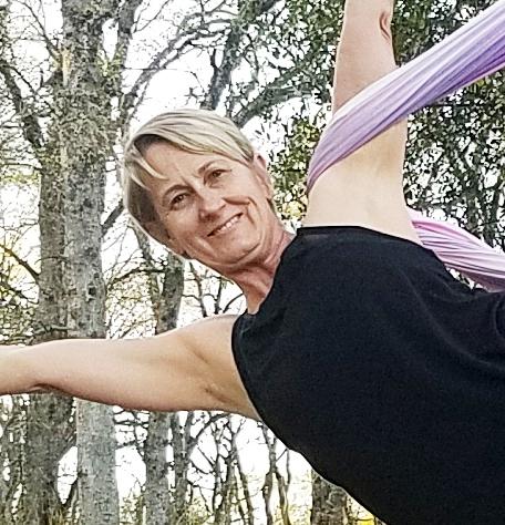 <p>Heidi Cain, Avid Aerial Yogi</p>, <p>@buh_bye90</p>