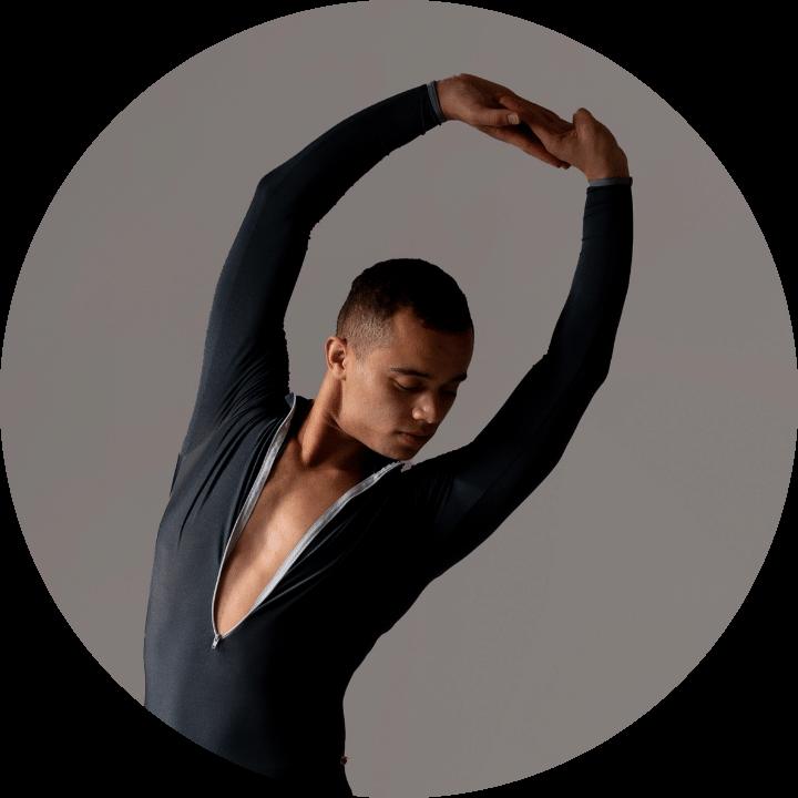 <p>Isaac Bowry</p>, <p>Dancer with Matthew Bourne's New Adventure</p>