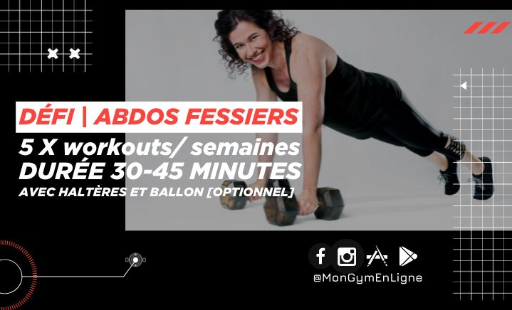 price option <p>Défi Spécial ABDOS FESSIERS</p>